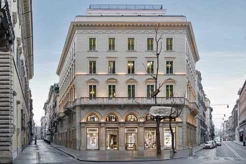 L'impegno di Fendi per l'arte a Roma