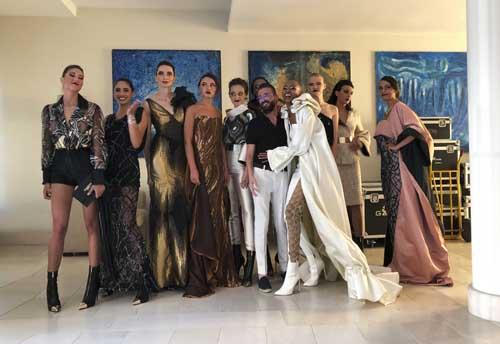 Manuel Canu presenta le sue creazioni a Roma