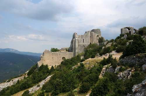 Viaggio tra i castelli catari del sud della Francia